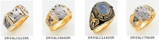 32nd Degree Rings Masonic Scottish